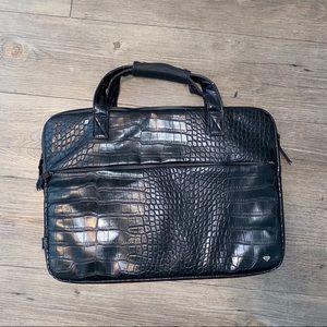 Diamond Supply Co snake embossed black laptop case
